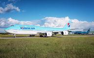 First visit of Korean Air B748 to Paris CDG title=