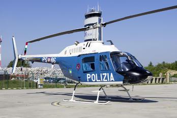 PS-86 - Italy - Police Agusta / Agusta-Bell AB 206A & B