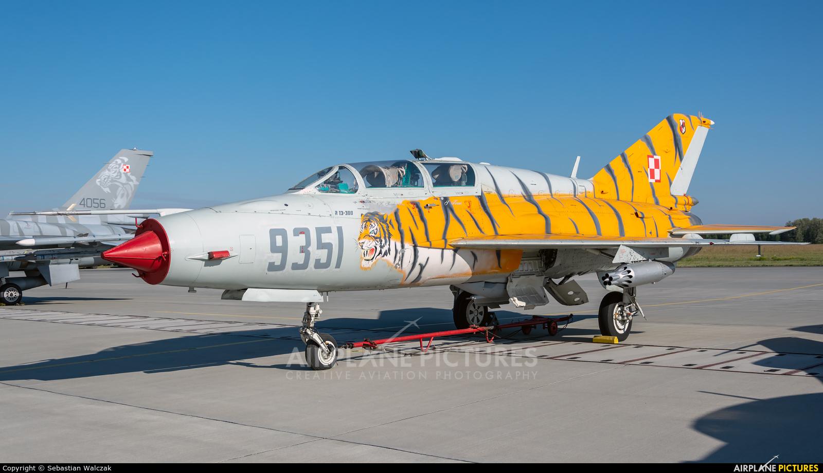 Poland - Air Force 9351 aircraft at Poznań - Krzesiny
