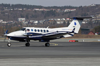 SE-MJJ - Babcock Scandinavian AirAmbulance Beechcraft 200 King Air