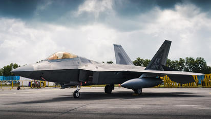 10-4195 - USA - Air Force Lockheed Martin F-22A Raptor