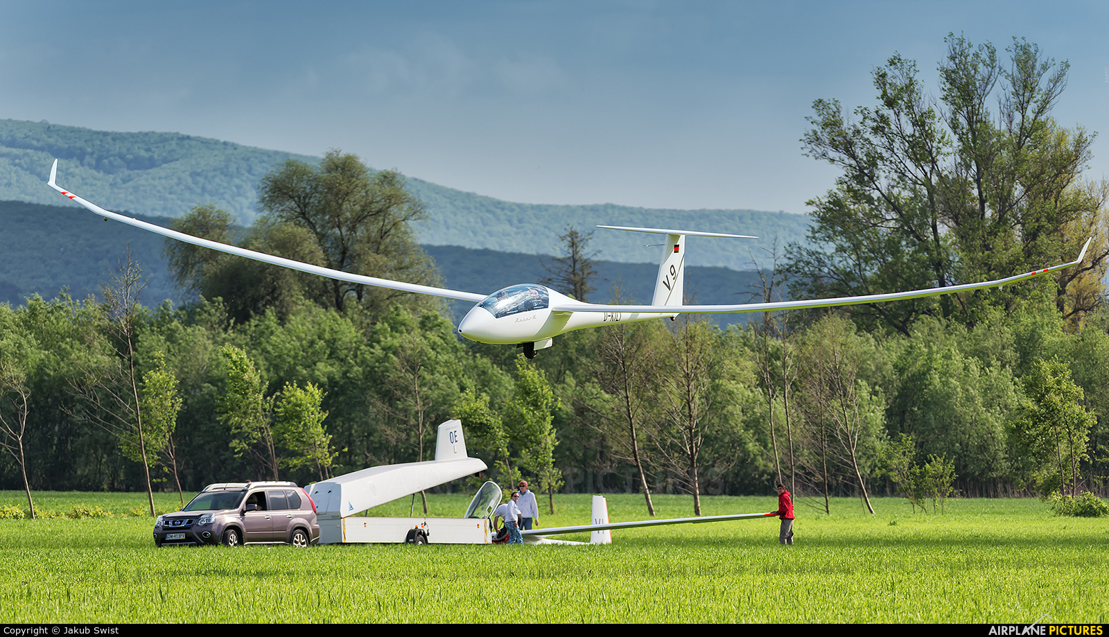 Private D-KILI aircraft at Prievidza