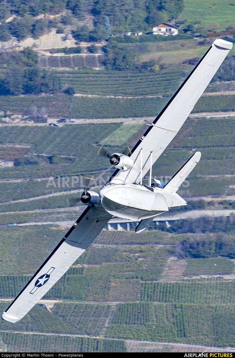 Catalina Aircraft G-PBYA aircraft at Sion