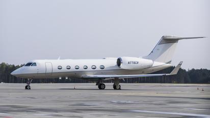 N778CR - Private Gulfstream Aerospace G-IV,  G-IV-SP, G-IV-X, G300, G350, G400, G450