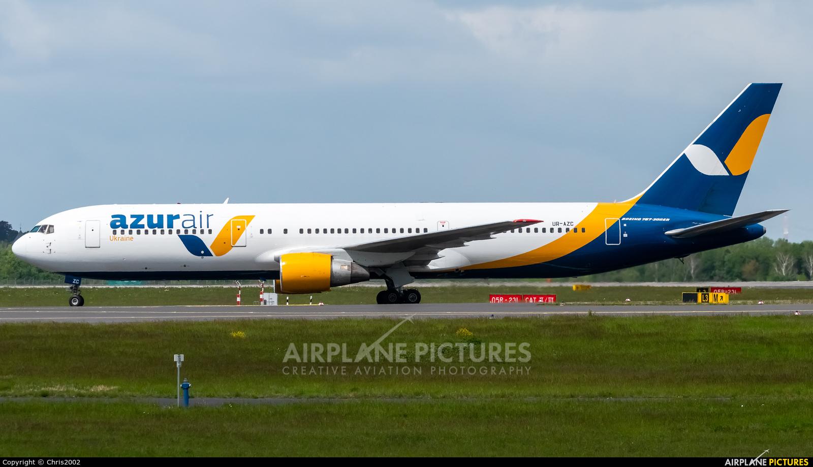 Azur Air Ukraine UR-AZC aircraft at Düsseldorf