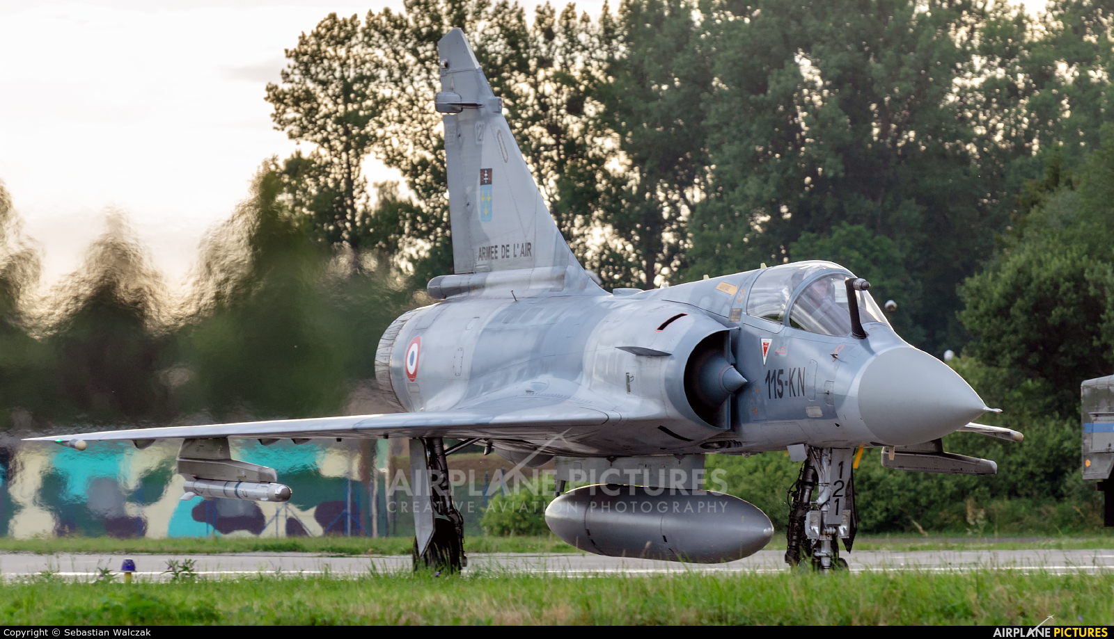 France - Air Force 121 aircraft at Malbork