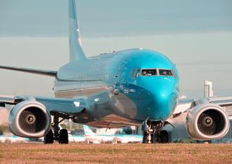 LV-GKU - Aerolineas Argentinas Boeing 737-800