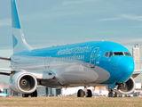 LV-FVM - Aerolineas Argentinas Boeing 737-800 aircraft