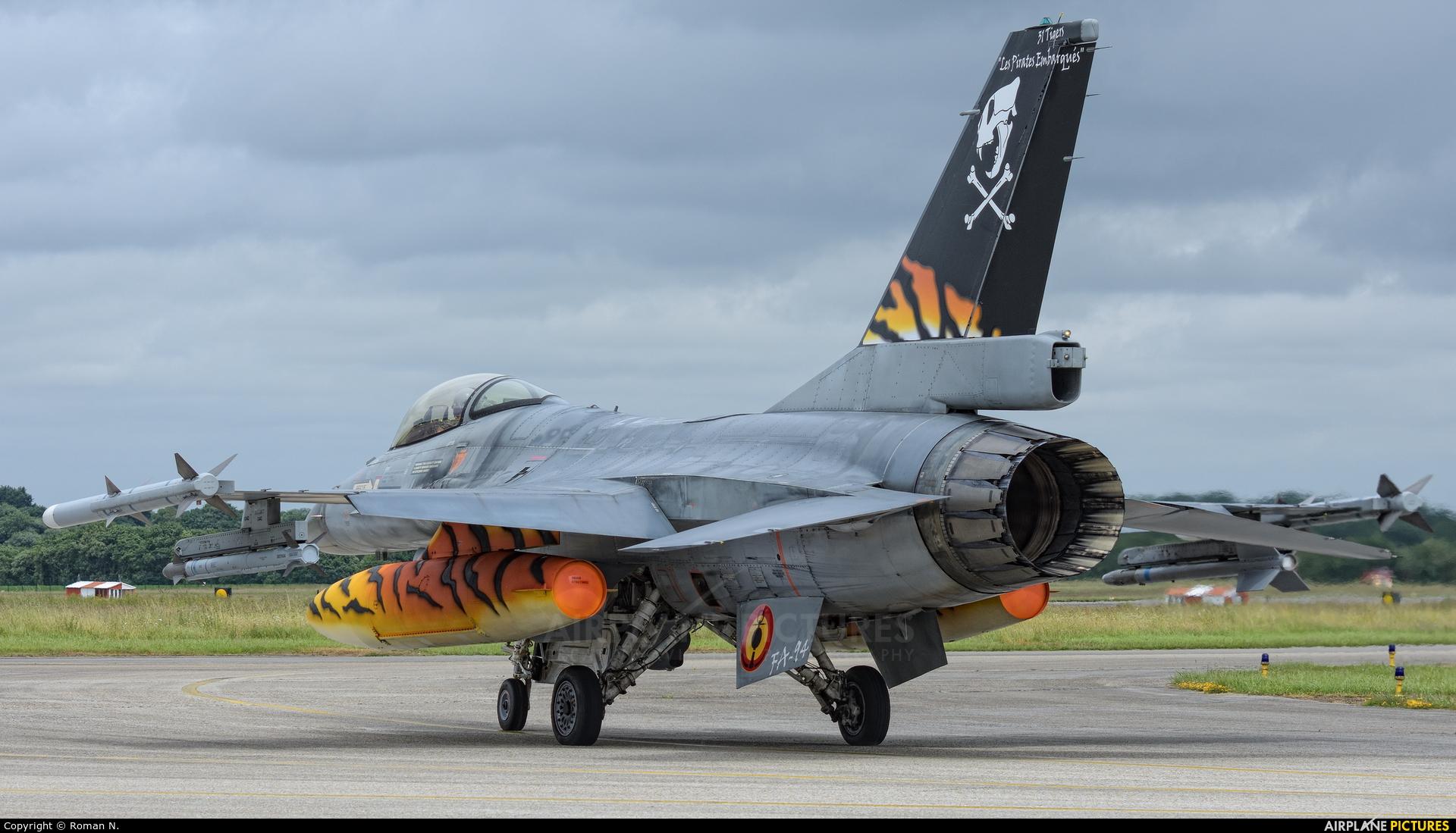 Belgium - Air Force FA-94 aircraft at Landivisiau