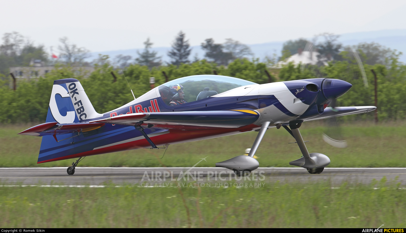 The Flying Bulls : Aerobatics Team OK-FBC aircraft at Piestany