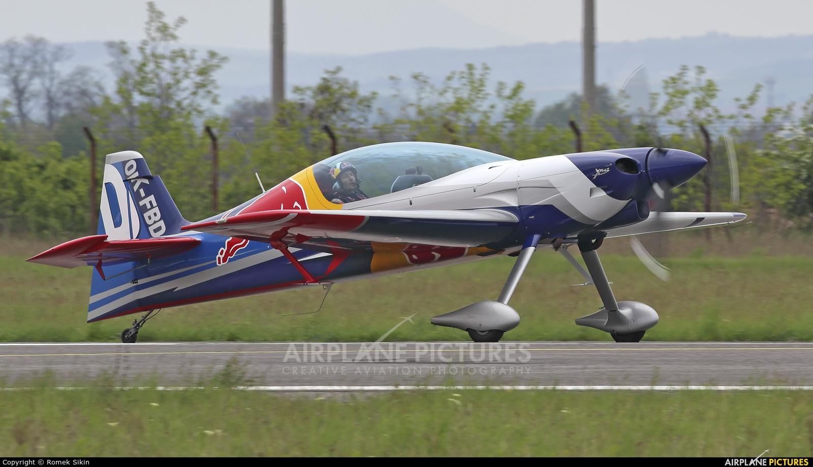 The Flying Bulls Duo : Aerobatics Team OK-FBD aircraft at Piestany