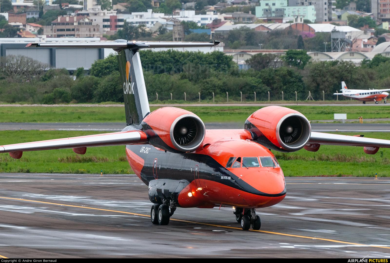 Cavok Air UR-CKC aircraft at Porto Alegre - Salgado Filho