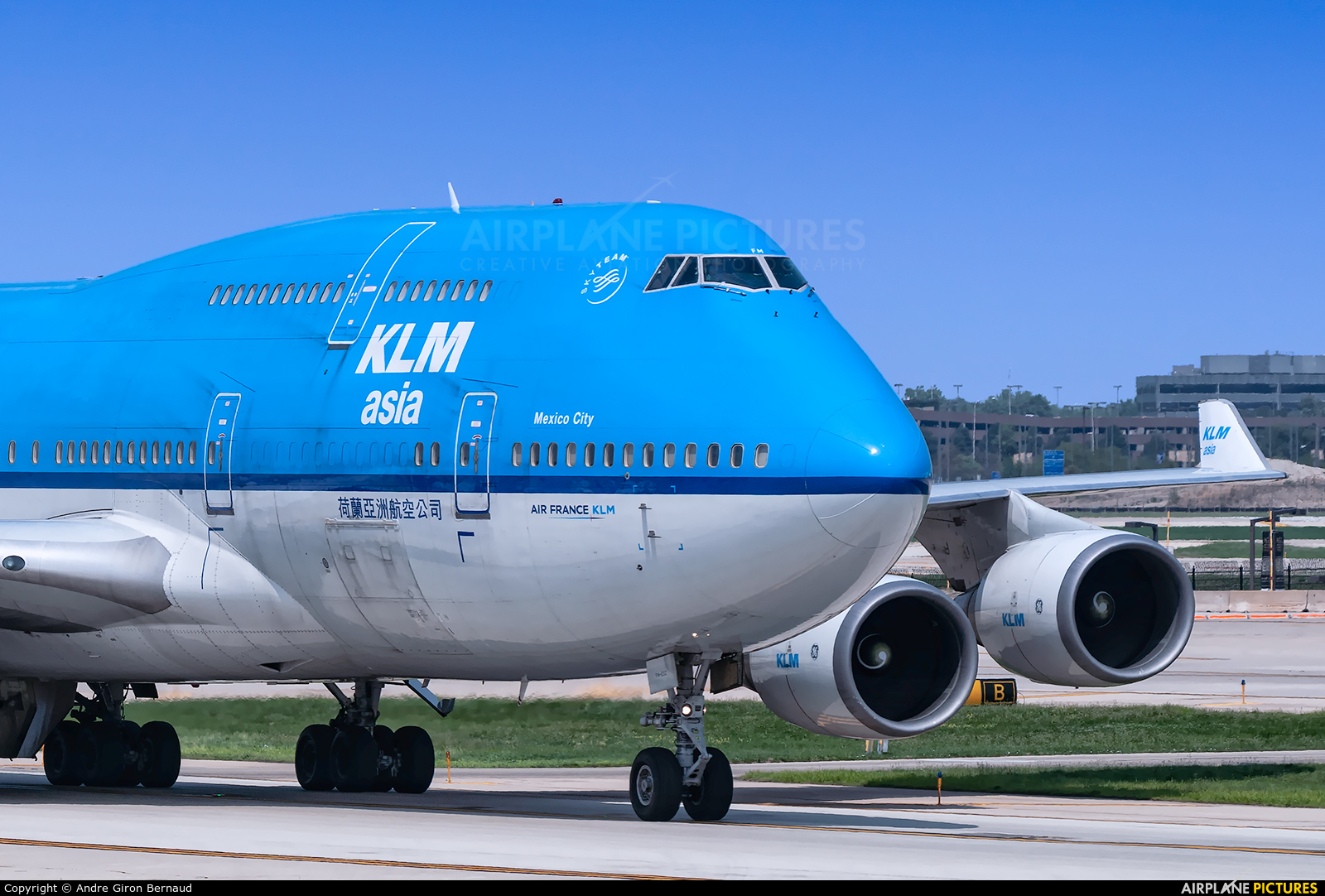 KLM Asia PH-BFN aircraft at Chicago - O Hare Intl