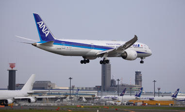 JA883A - ANA - All Nippon Airways Boeing 787-9 Dreamliner