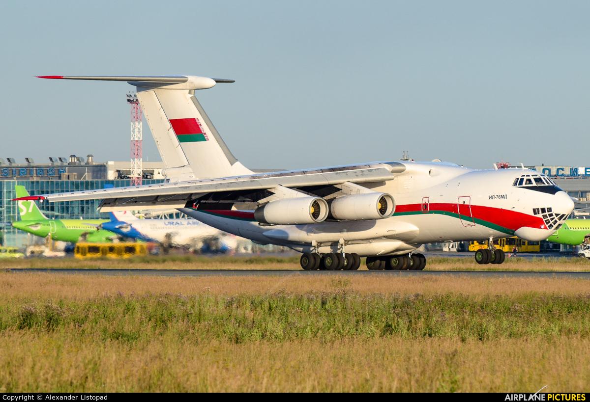 Belarus - Air Force EW-005DE aircraft at Novosibirsk
