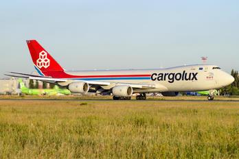 LX-VCJ - Cargolux Boeing 747-8F