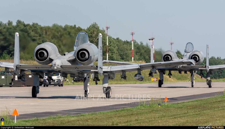USA - Air Force 78-0651 aircraft at Łask AB