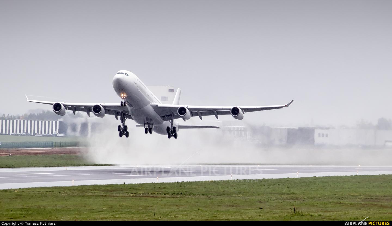 Air Belgium OO-ABE aircraft at Rzeszów-Jasionka