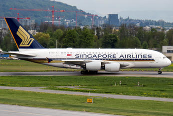 9V-SKW - Singapore Airlines Airbus A380