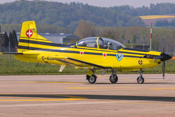 C-409 - Switzerland - Air Force Pilatus PC-9