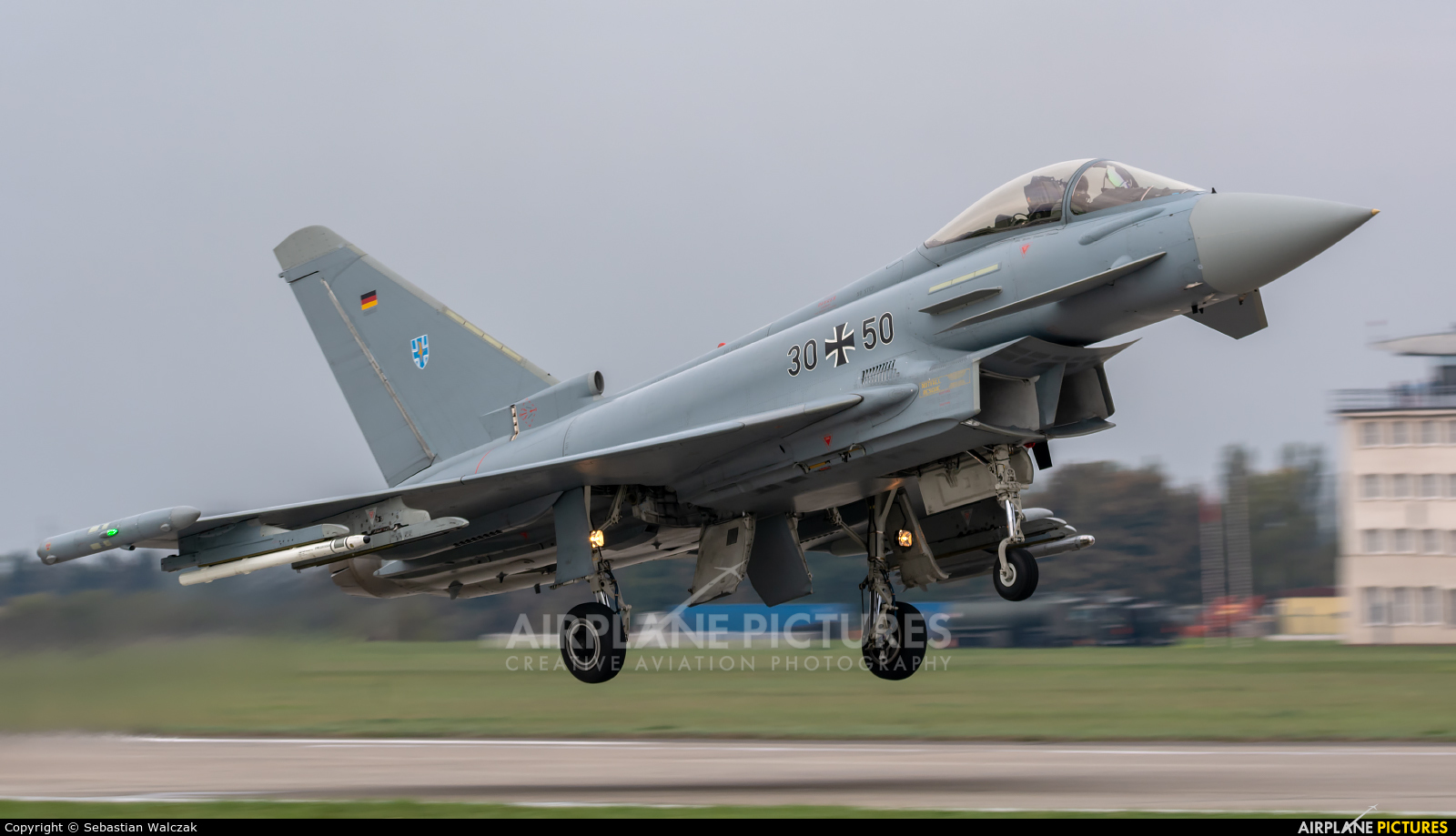 Germany - Air Force 30+50 aircraft at Malbork