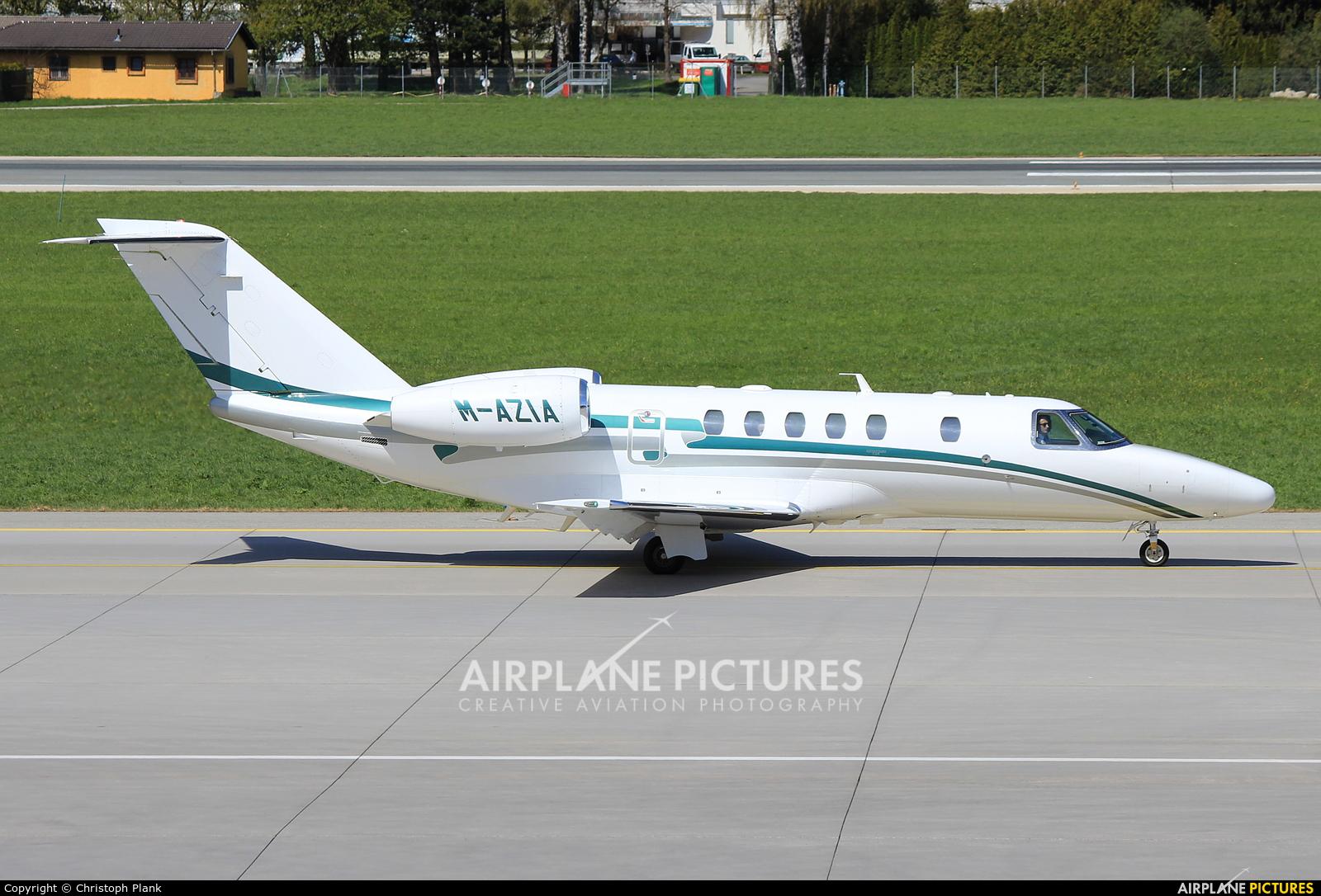Private M-AZIA aircraft at Innsbruck
