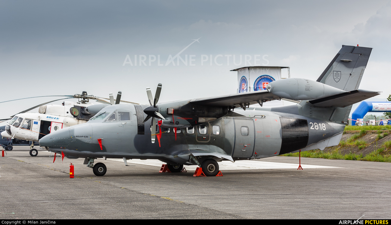 Slovakia -  Air Force 2818 aircraft at Piestany