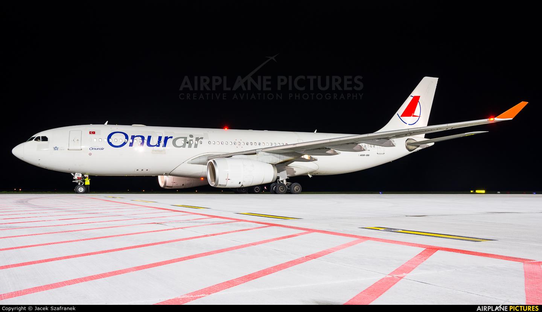 Onur Air TC-OCG aircraft at Katowice - Pyrzowice