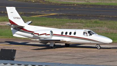 LV-GUJ - Private Cessna 501 Citation I / SP