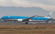 KLM Boeing 787-9 visited Santiago de Chile title=