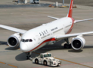 B-208X - Shanghai Airlines Boeing 787-9 Dreamliner