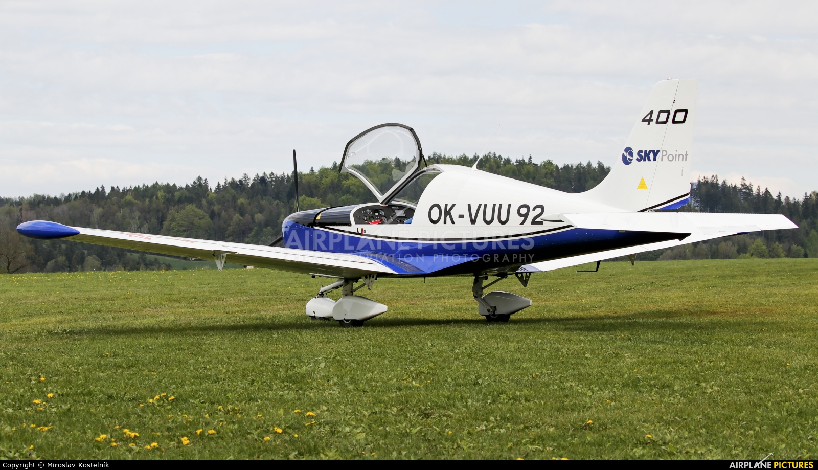 Private OK-VUU92 aircraft at Ostrava Mošnov