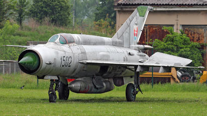 1502 - Slovakia -  Air Force Mikoyan-Gurevich MiG-21R