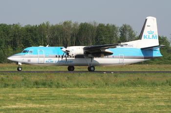 PH-KVC - KLM Cityhopper Fokker 50
