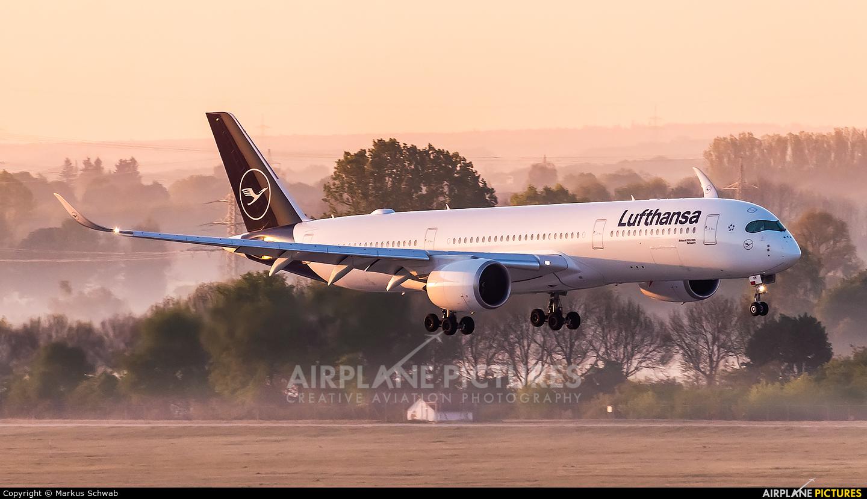 Lufthansa D-AIXM aircraft at Munich