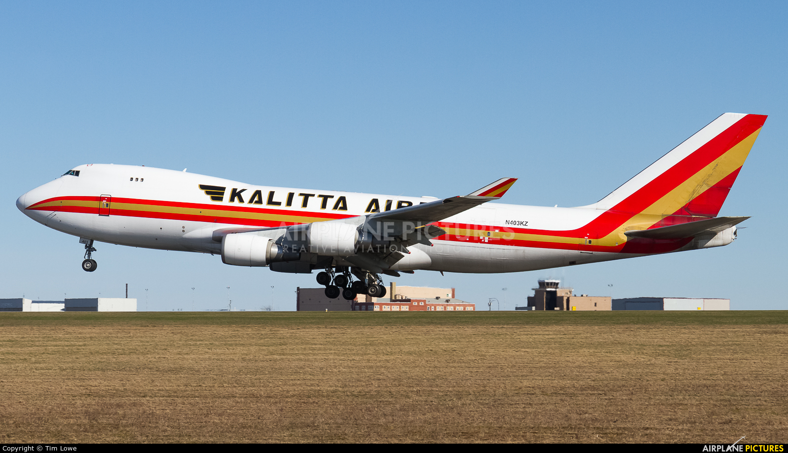 Kalitta Air N403KZ aircraft at greater Moncton International