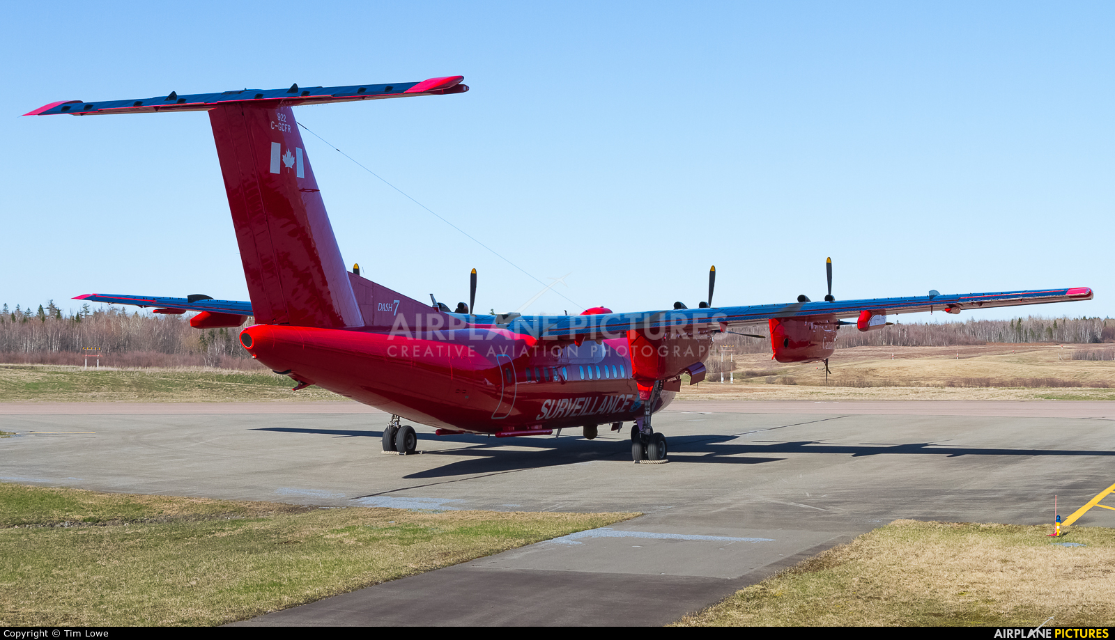 Canada - Dept of Transport C-GCFR aircraft at greater Moncton International