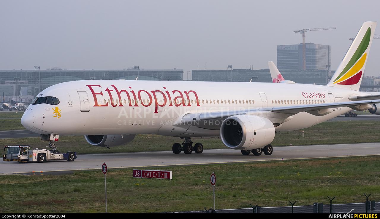 Ethiopian Airlines ET-AUC aircraft at Frankfurt
