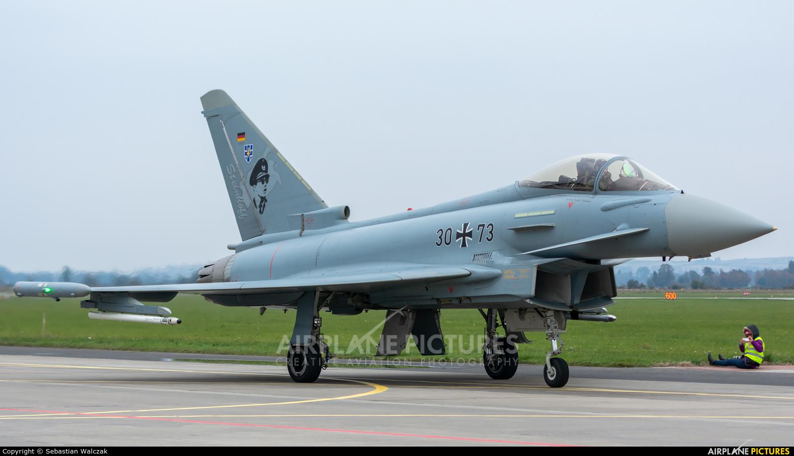 Germany - Air Force 30+73 aircraft at Malbork