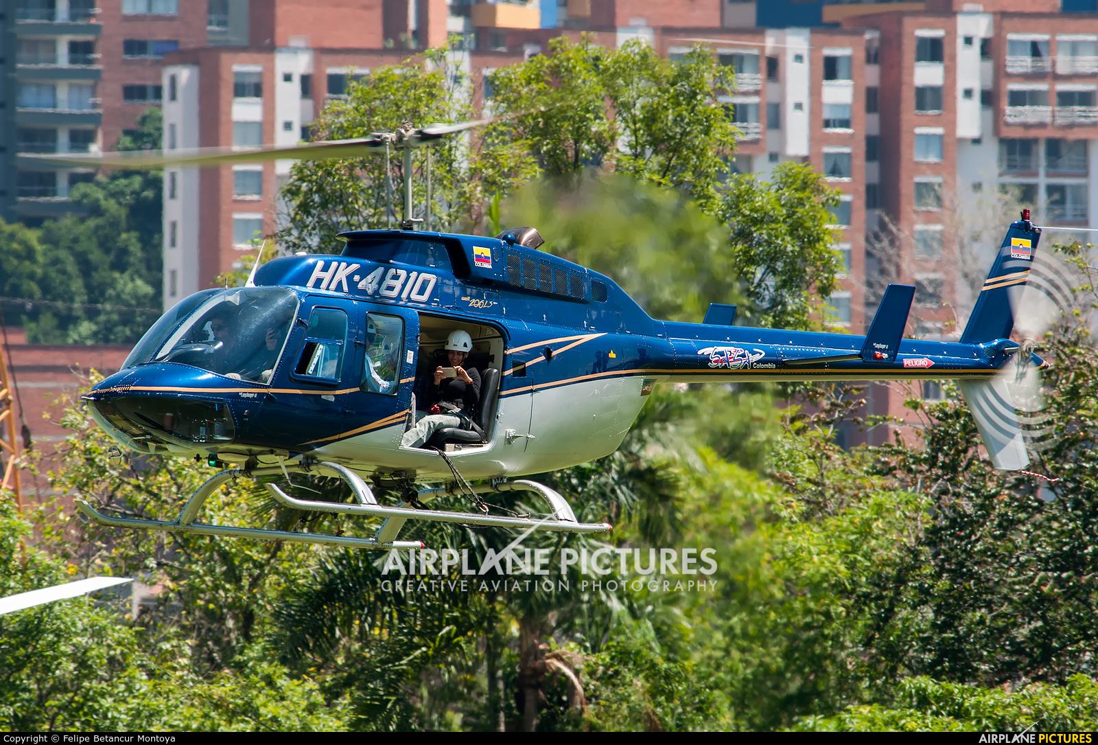 Private HK-4810 aircraft at Medellin - Olaya Herrera