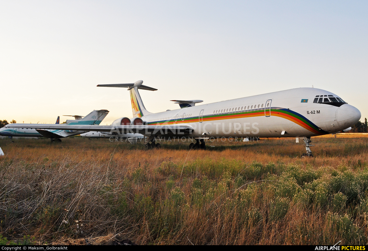Kokshetau Airlines UN-86506 aircraft at Almaty Intl