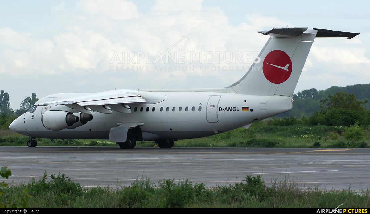 WDL D-AMGL aircraft at Craiova