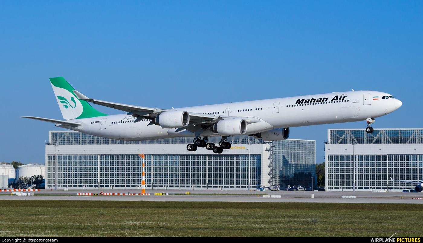 Mahan Air EP-MME aircraft at Munich