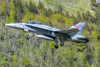 J-5234 - Switzerland - Air Force McDonnell Douglas F/A-18D Hornet
