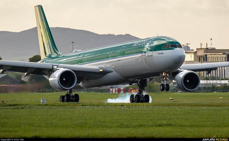 Aer Lingus EI-FNG aircraft at Dublin