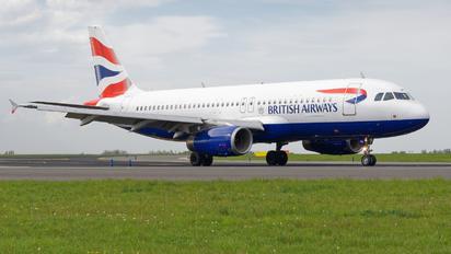 G-EUUN - British Airways Airbus A320