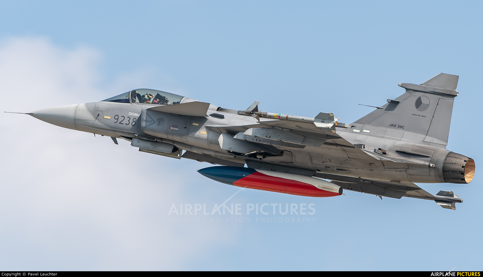 Czech - Air Force 9238 aircraft at Pardubice