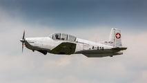 HB-RCH - Private Pilatus P-3 aircraft