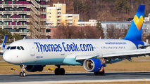 G-TCDB - Thomas Cook Airbus A321 aircraft