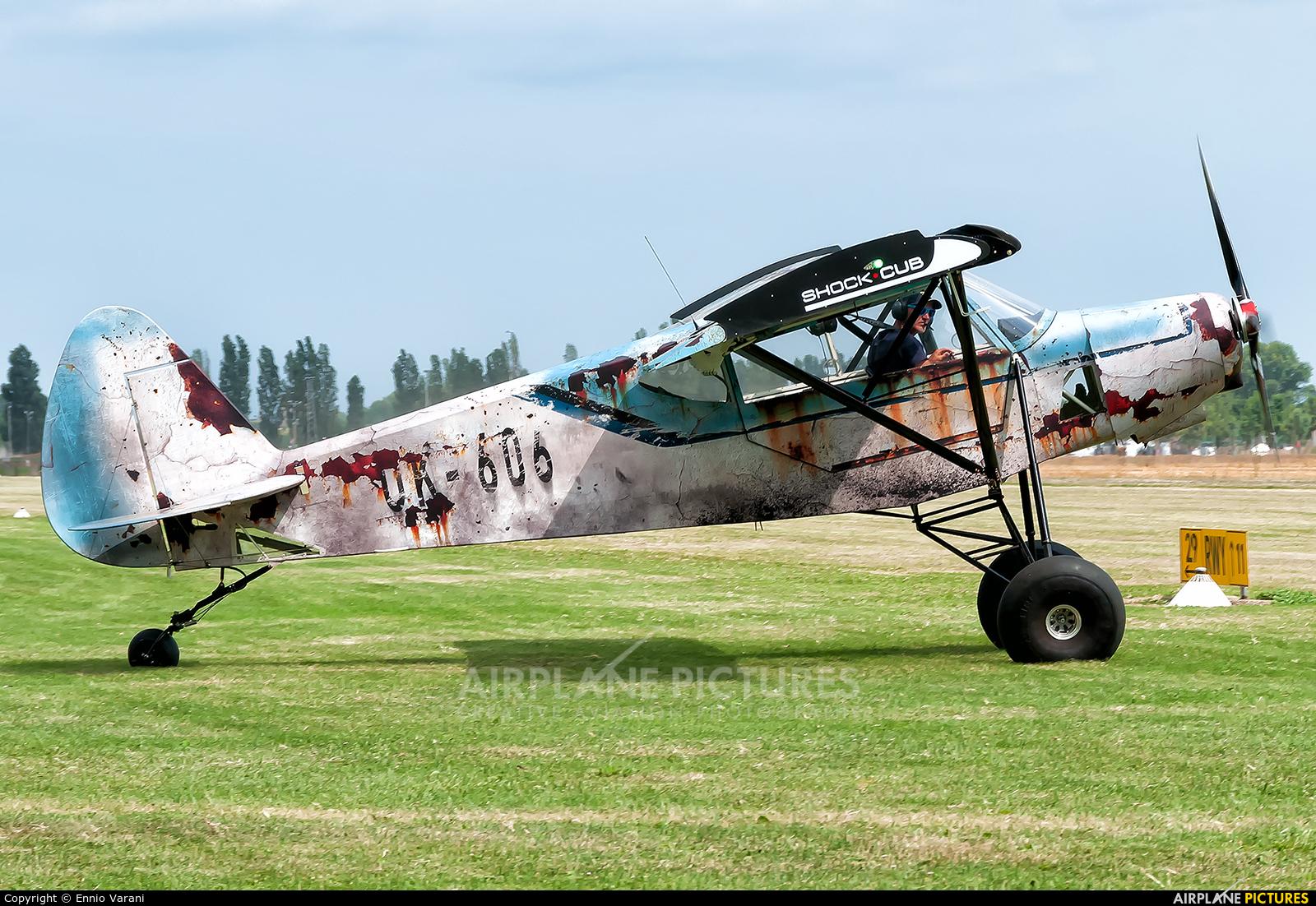Private OK-606 aircraft at Montagnana